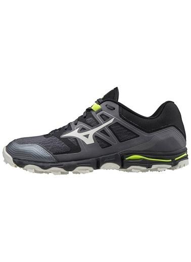 Mizuno Wave Hayate 6 Erkek Koşu Ayakkabısı Siyah/Gri Siyah